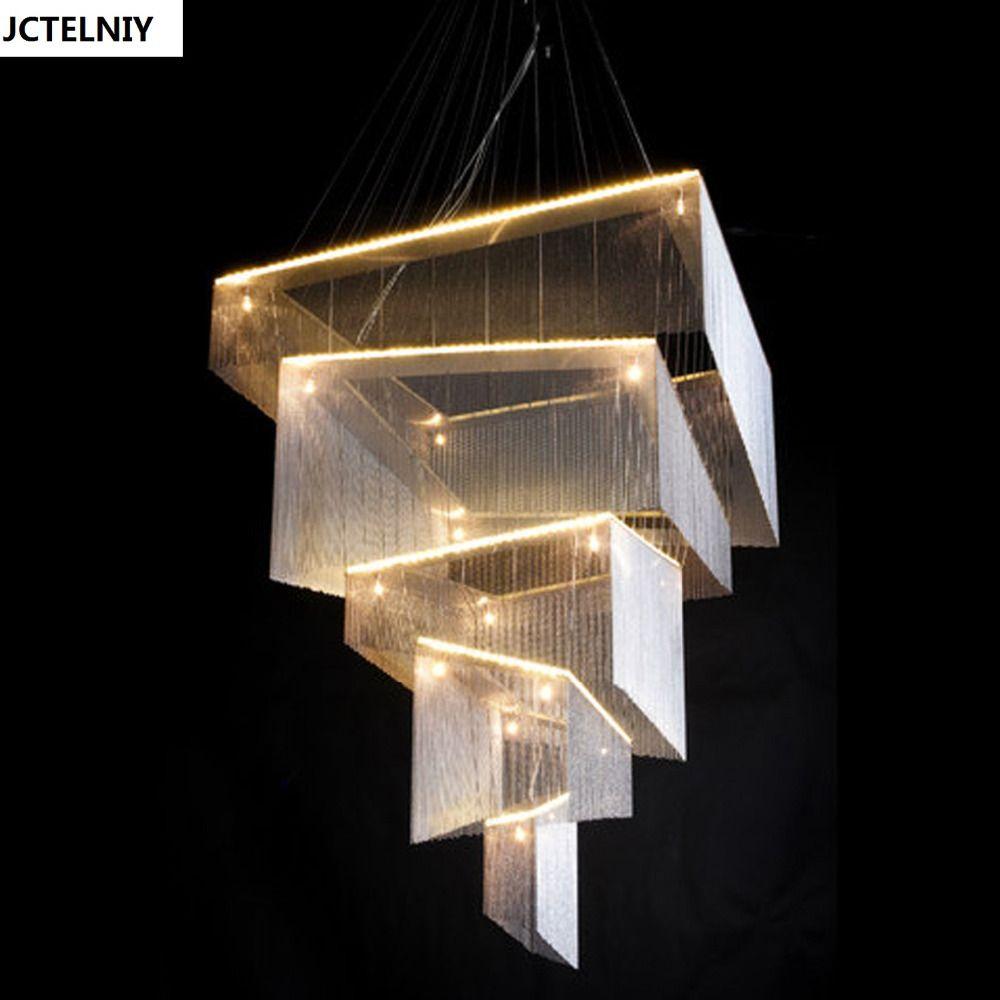 Luxury villa chandeliers handmade custom sitting room adornment can