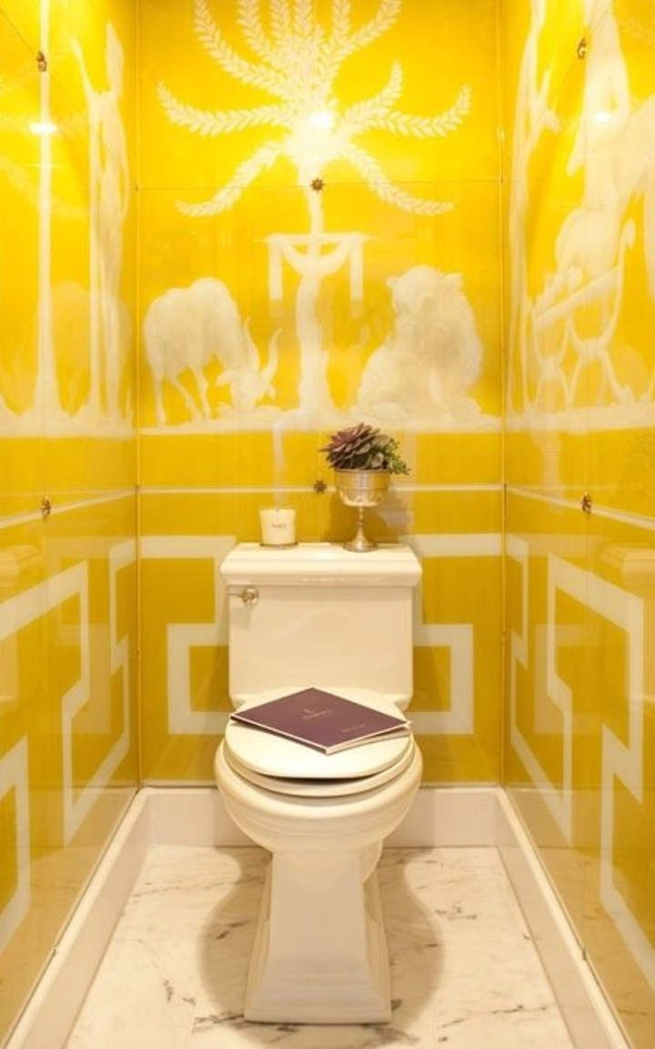 yellow bathroom #7 | Home Decor Ideas | Pinterest | Yellow bathrooms ...