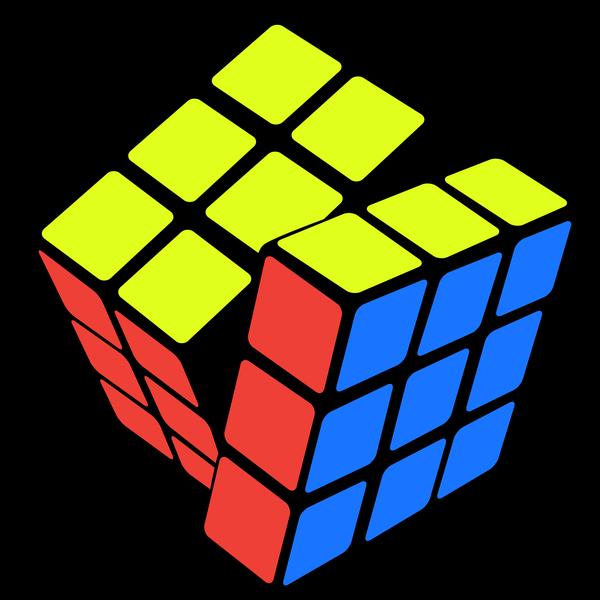 color rubik logo by