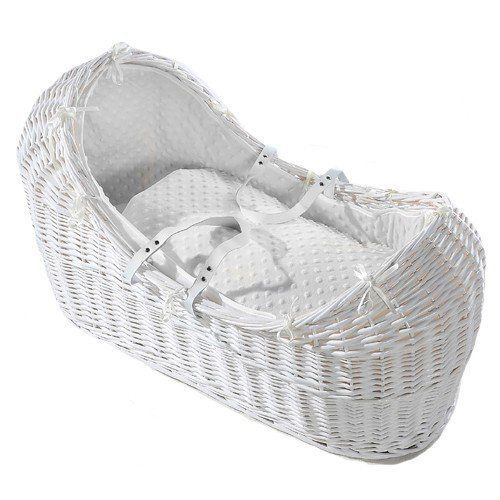 Nursery Furniture Baby Diligent Baby Moses Basket And Stand