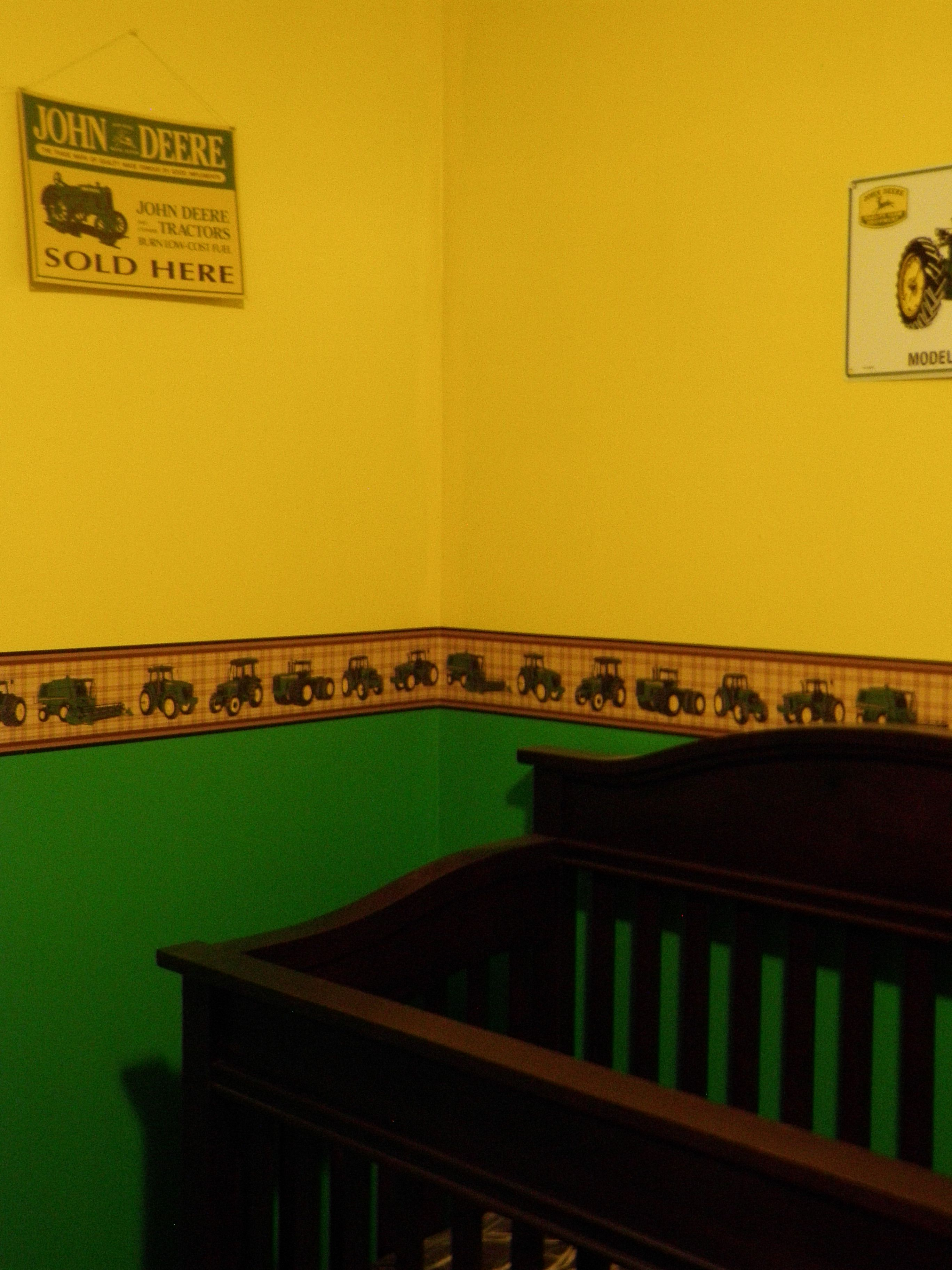 john deere kids room | for the kids :-) / john deere room | sj