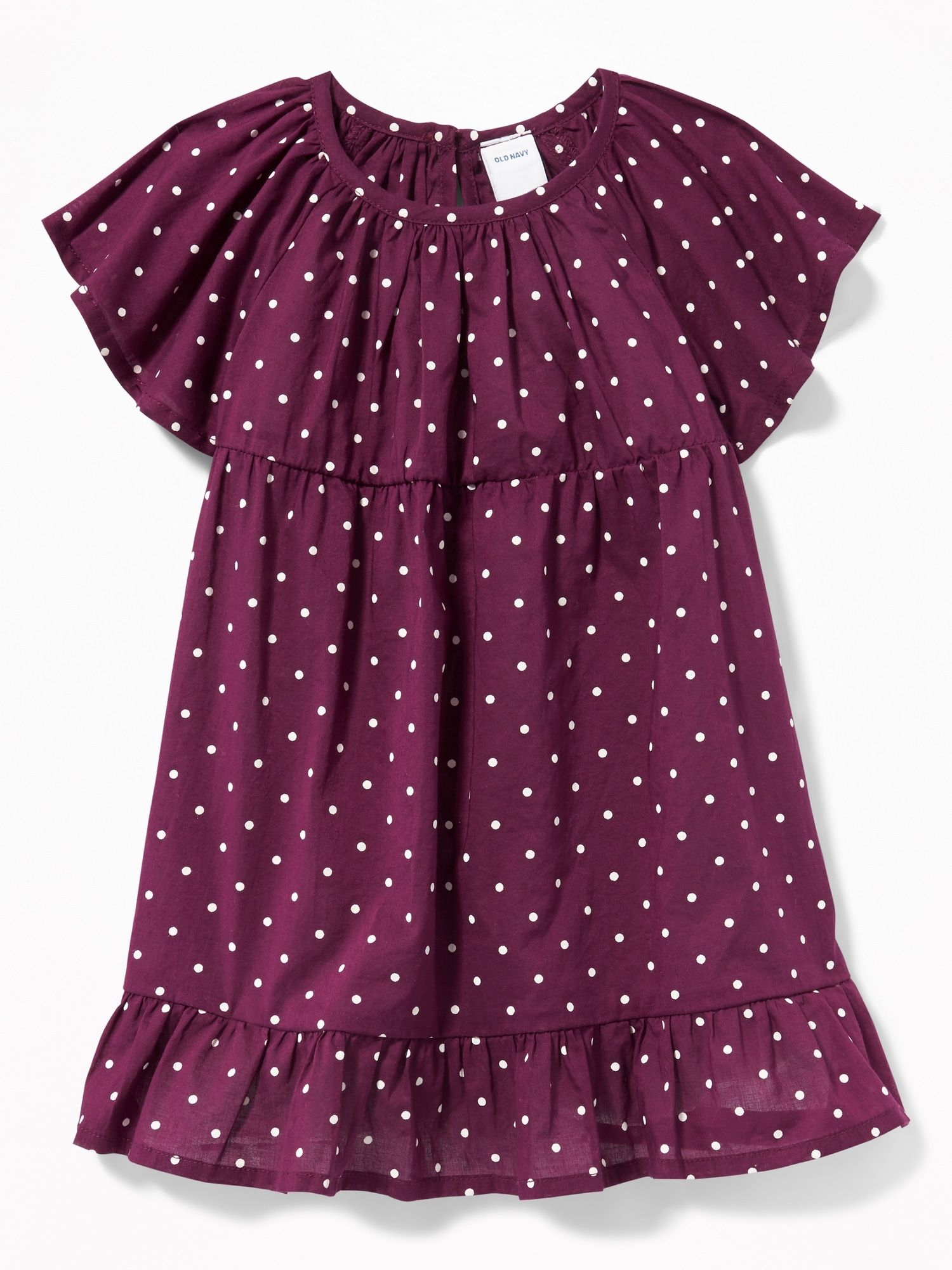 73ecb4c08 Flutter-Sleeve Babydoll Dress for Baby | my kids style | Toddler ...