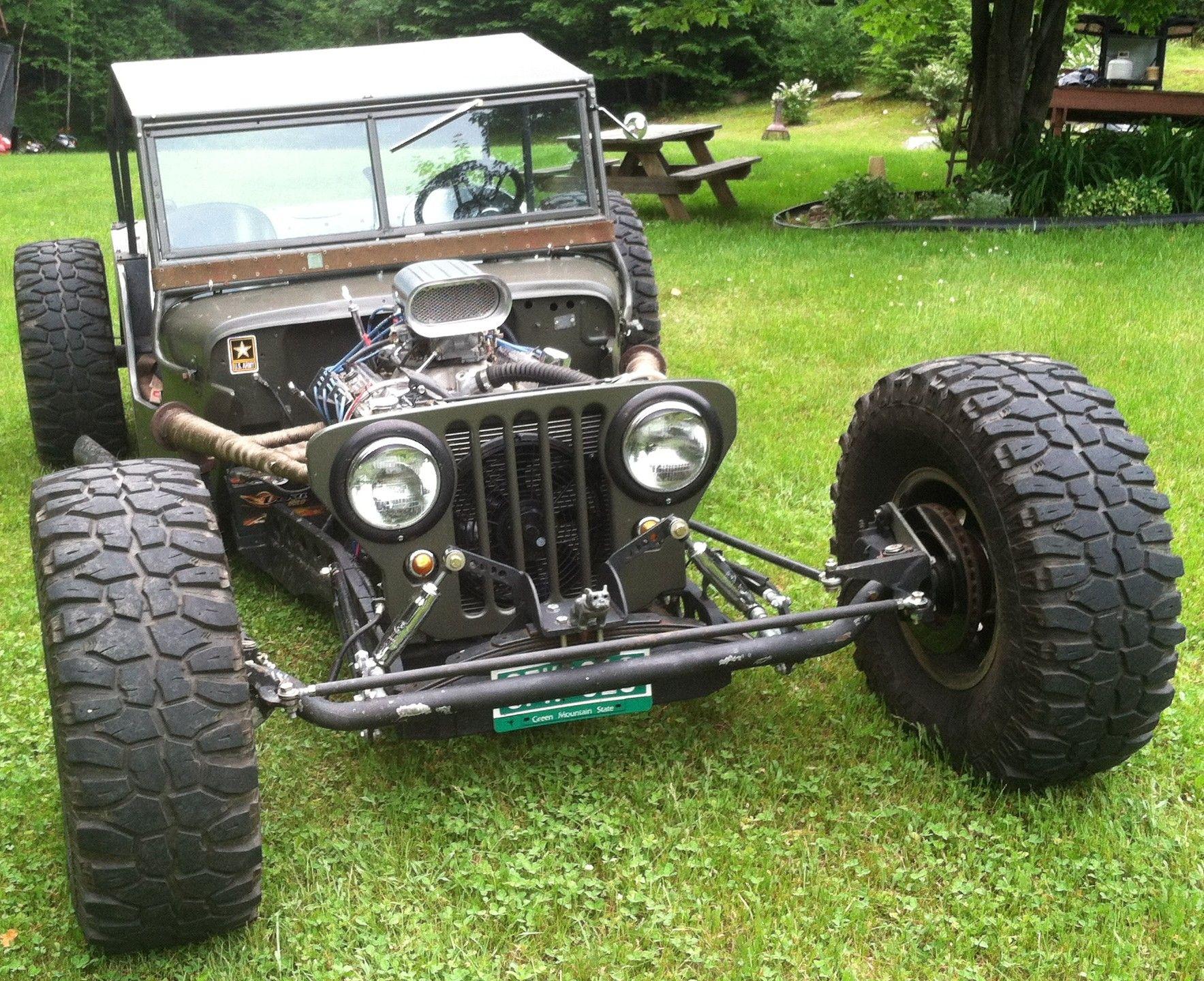 1947 willys cj2a rat rod ratrod oogahorn willys jeep willysjeep
