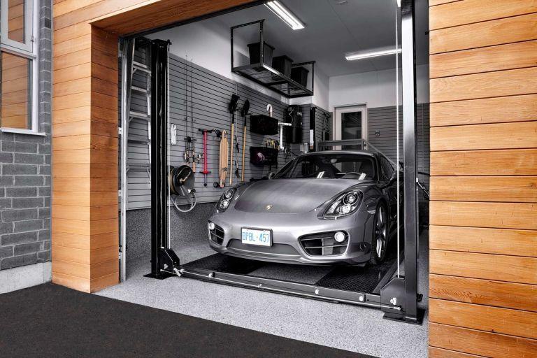 Modern Car Garage Designs Garage Design Car Garage Garage Interior