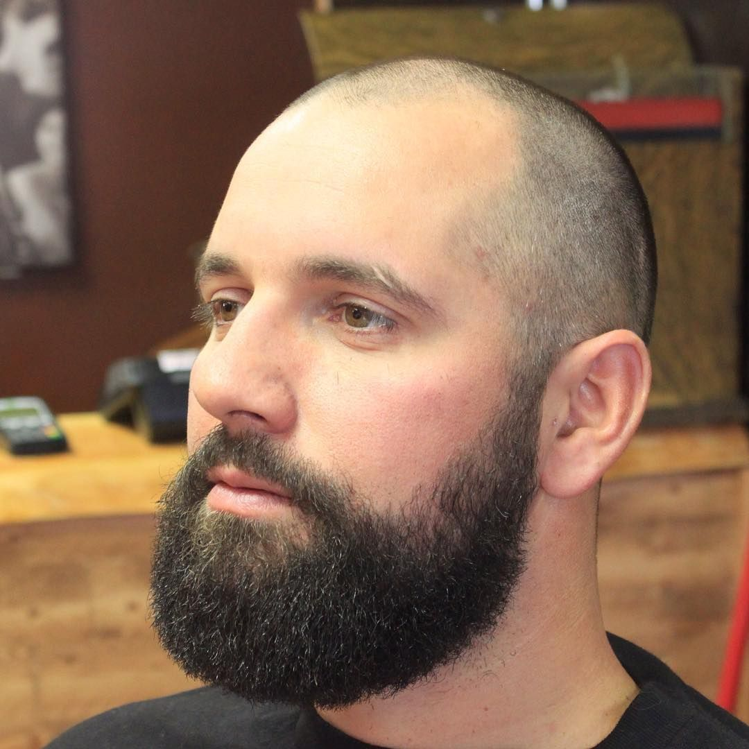 20 Beard Styles For Bald Guys To Look Stylish And Attractive Hairdo Hairstyle Beard Styles Bald Beard Styles Shaved Head With Beard
