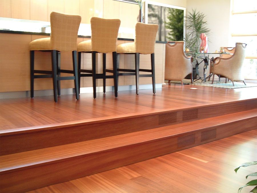 Sapele Hardwood Flooring Flooring For Stairs Sapele Living