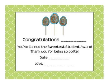 We all want to award our students at the end of the year! Here are 24 pre-made awards!
