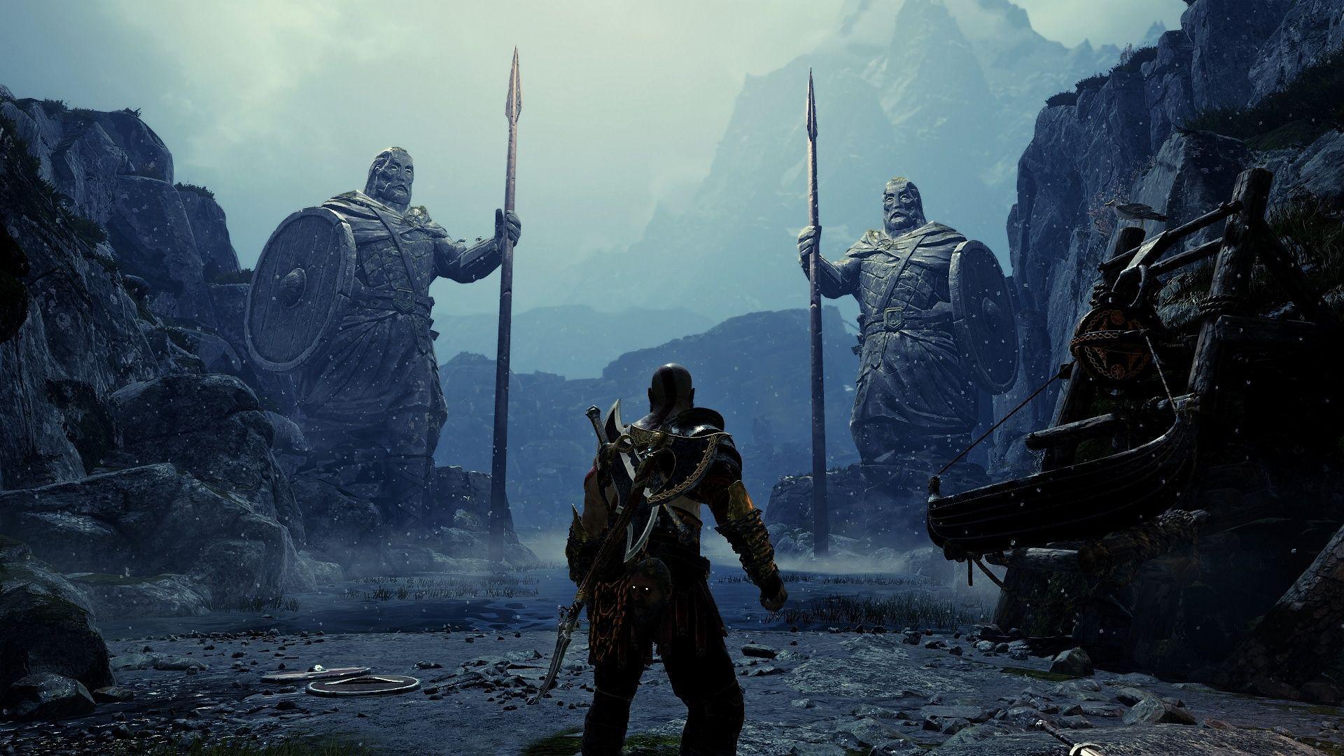 Midgard is hauntingly beautiful [God of War]