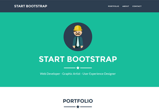 16 Top Free Bootstrap Themes Bootstrap Template One Page Website Website Template