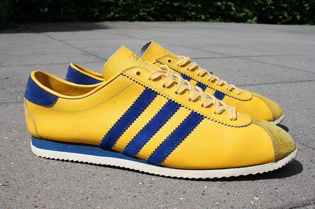 Adidas Dragon Gelb Blau schuhe Q20829