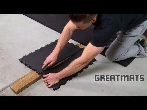 interlocking basement garage  home gym rubber floor