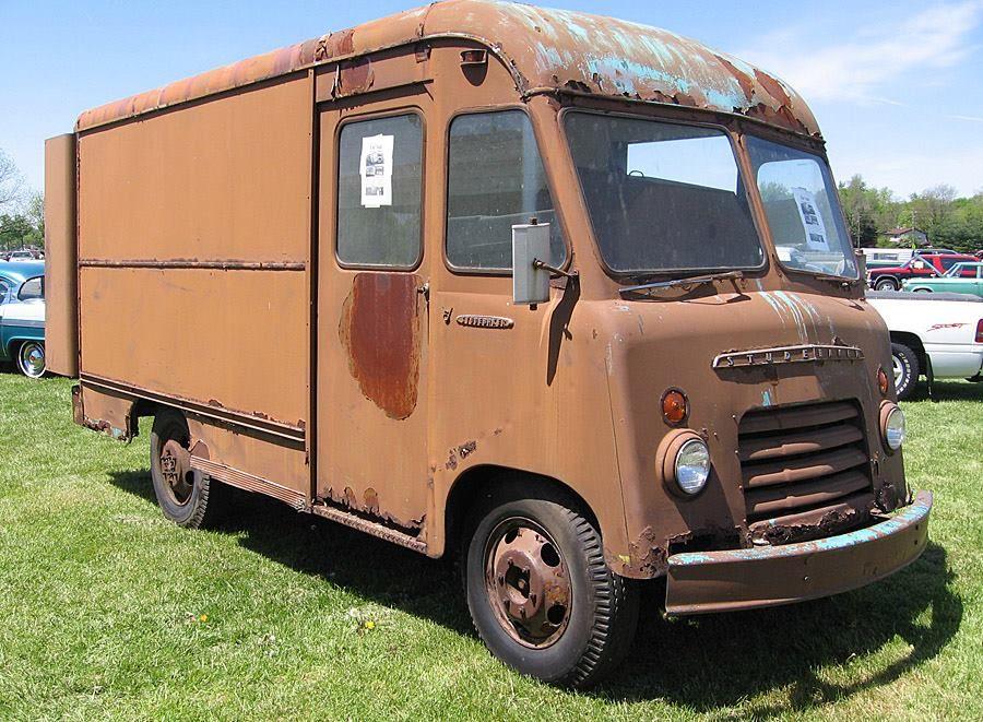 59 Saw This 55 Prototype Van For Sale Back In 06 The Studebaker Truck Page Step Van Trucks Studebaker Trucks