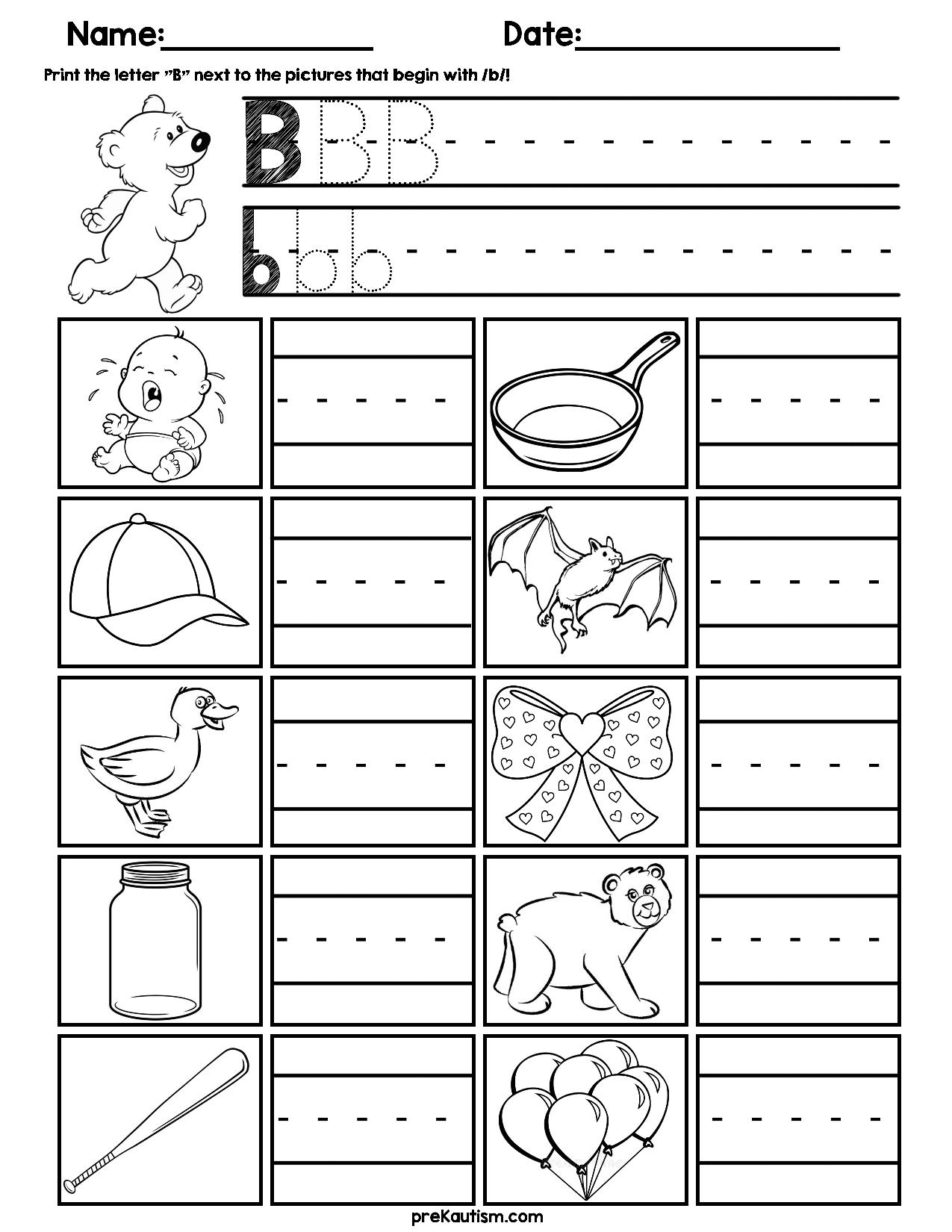 Initial Consonant Practice Worksheets Consonant Practices Worksheets Alphabet Activities Preschool [ 1650 x 1275 Pixel ]