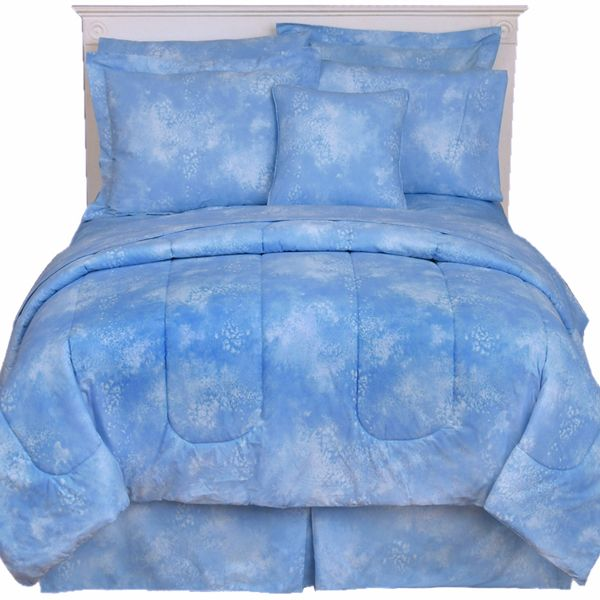 Sky Blue Twin XL Comforter Set Caribbean Coolers   FREE SHIPPING