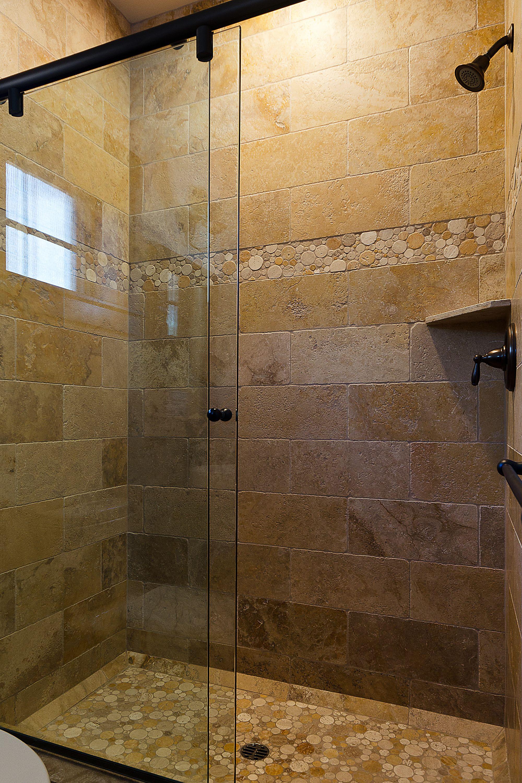 Classic Shower Installation Dusche Fliesen Felsendusche Duschboden