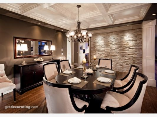 Ceilings,Dining Rooms - Home and Garden Design Idea's
