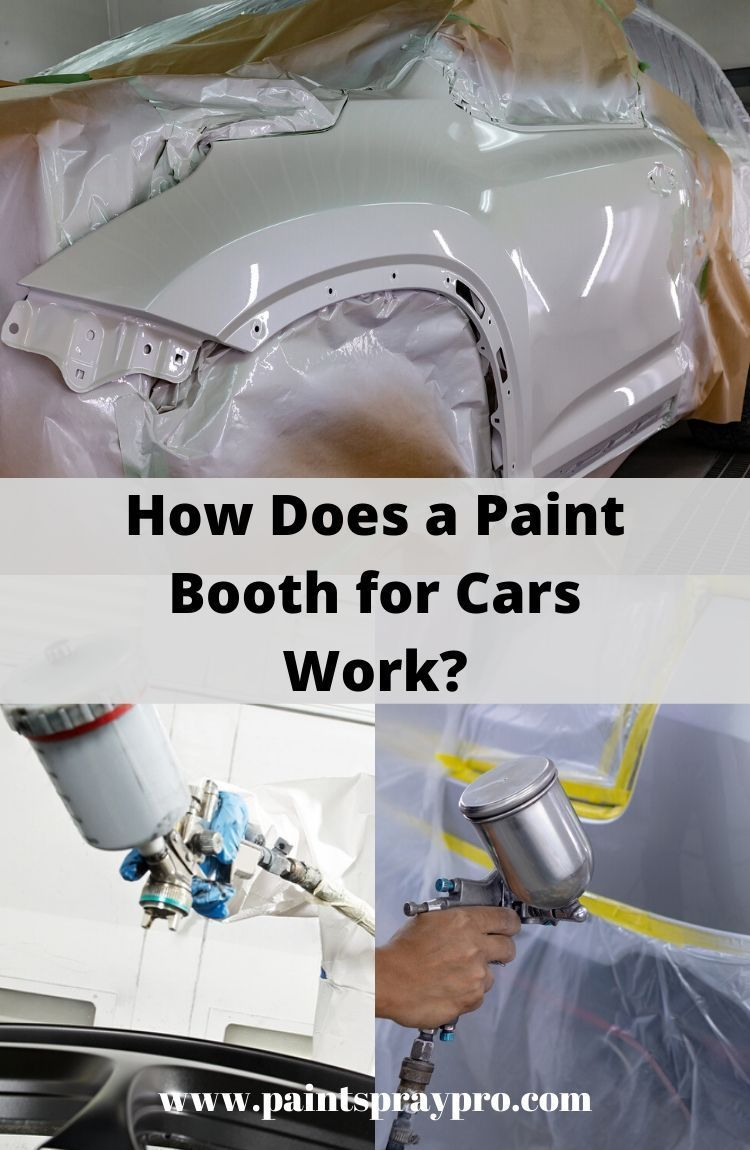 How To Make A Spray Paint Booth For Cars Ultimate Car Diy In 2020 Car Painting Paint Booth Spray Paint Booth