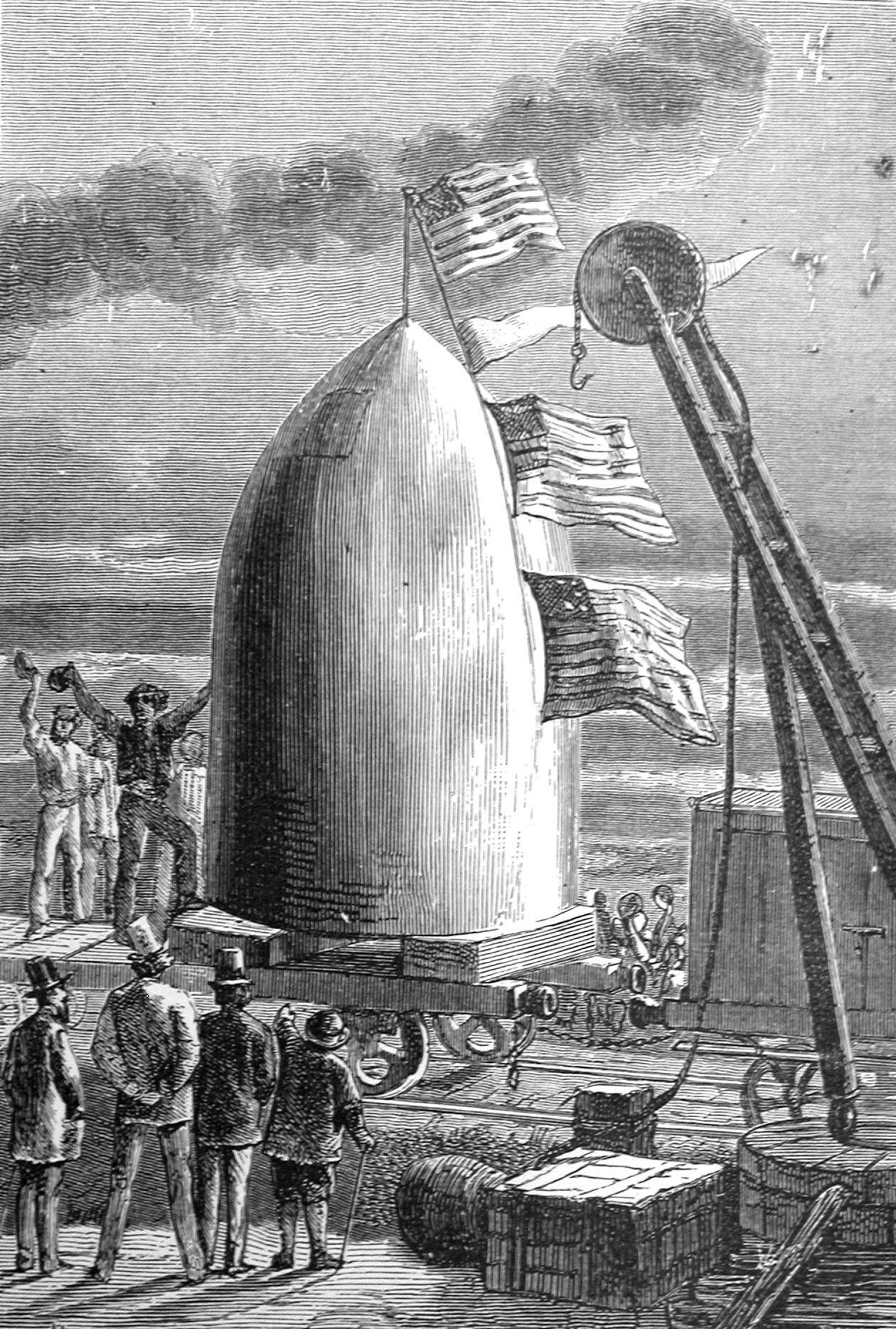 a review of from the earth to the moon by jules verne This article is a plot summary of the science fiction book from the earth to the moon and round the moon by jules verne it explains the known scientific facts.