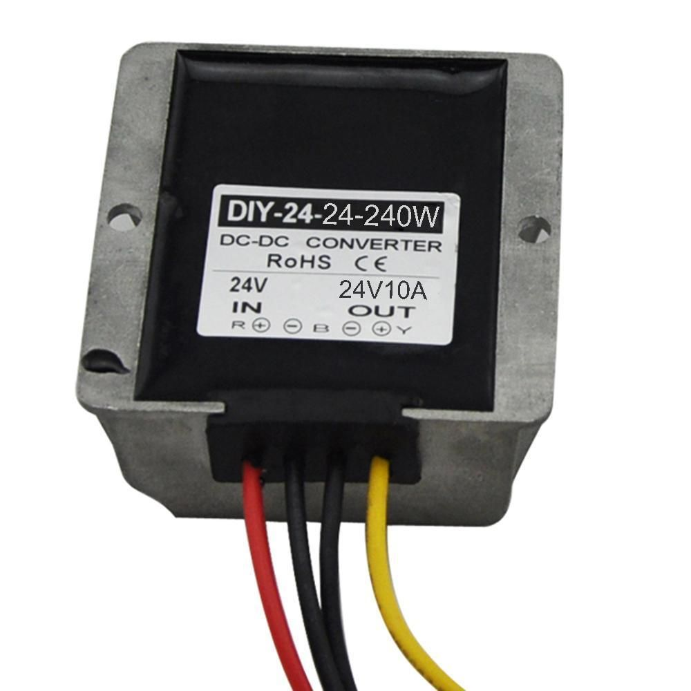 Dc 24v 18v 36v Converter To 24v 10a Dc Boost Buck Power Module Voltage Regulator Converter Voltage Regulator Power Converters