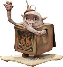 Animation Art:Maquette, The Boxtrolls Oil Can Original Animation Puppet (LAIKA,2014)....