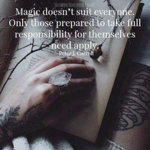 The Truth About Magick & Witches.