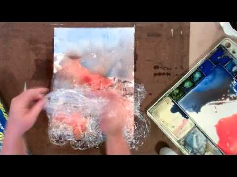 Step-By-Step Watercolor Lesson: Seagull  Check out her Youtube channel http://www.youtube.com/user/DebiWatsonWatercolor/videos?view=0