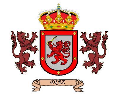Apellidos Y Escudos Díaz Escudo De Armas Apellidos Escudo De Armas Escudo