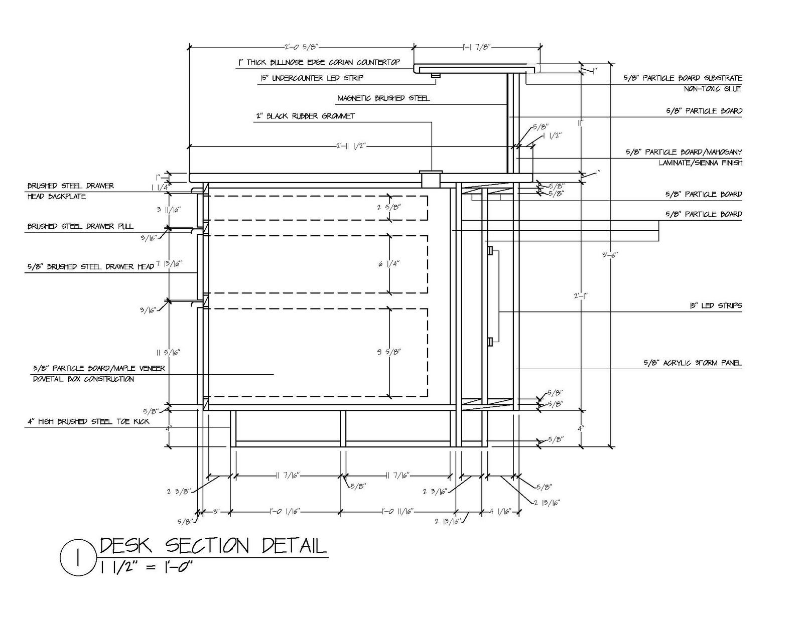 office desk design plans. Reception Desk Section Detail Office Design Plans K