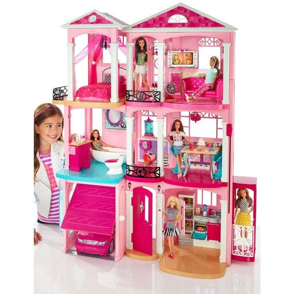 Barbi Casa De Los Suenos De Barbie Precio S 1490 00 Casa De