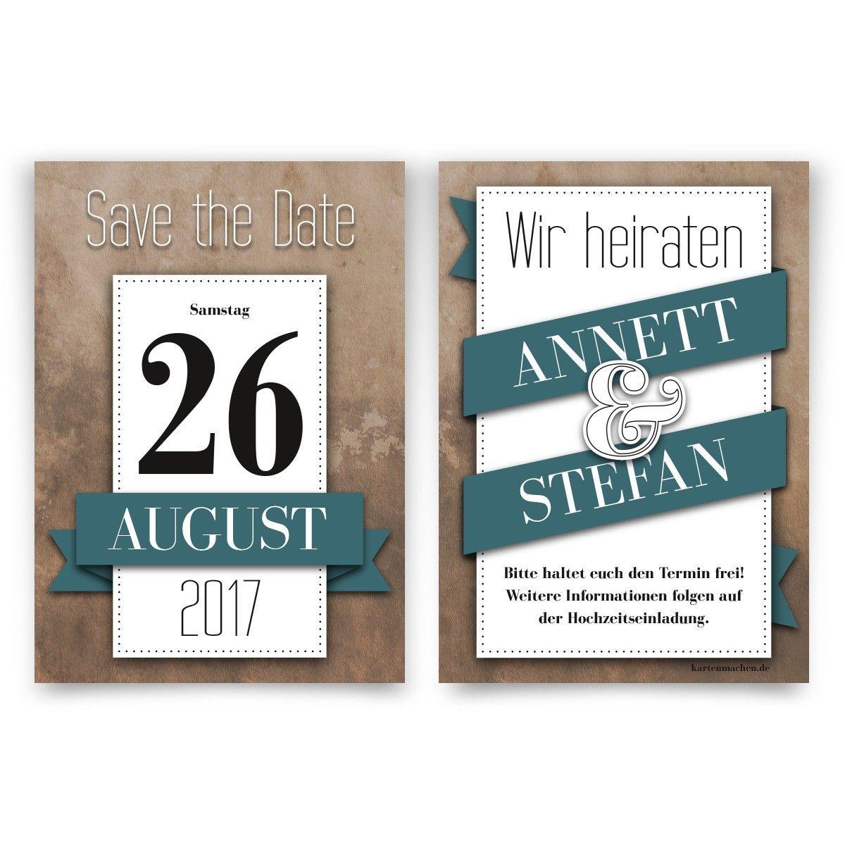 Familie Und Freunde Werden Sich Den Tag Gleich Rot Im Kalender Anstreichen.  #savethedate #hochzeit #heiraten #einladung #invitation #wedding #kalender  ...