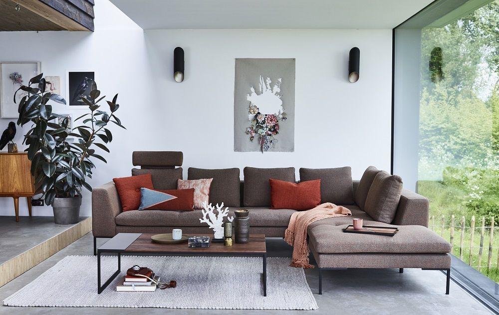 Montèl New Town | Bruin | Hoekbank | Retro | Strak | Interieur ...