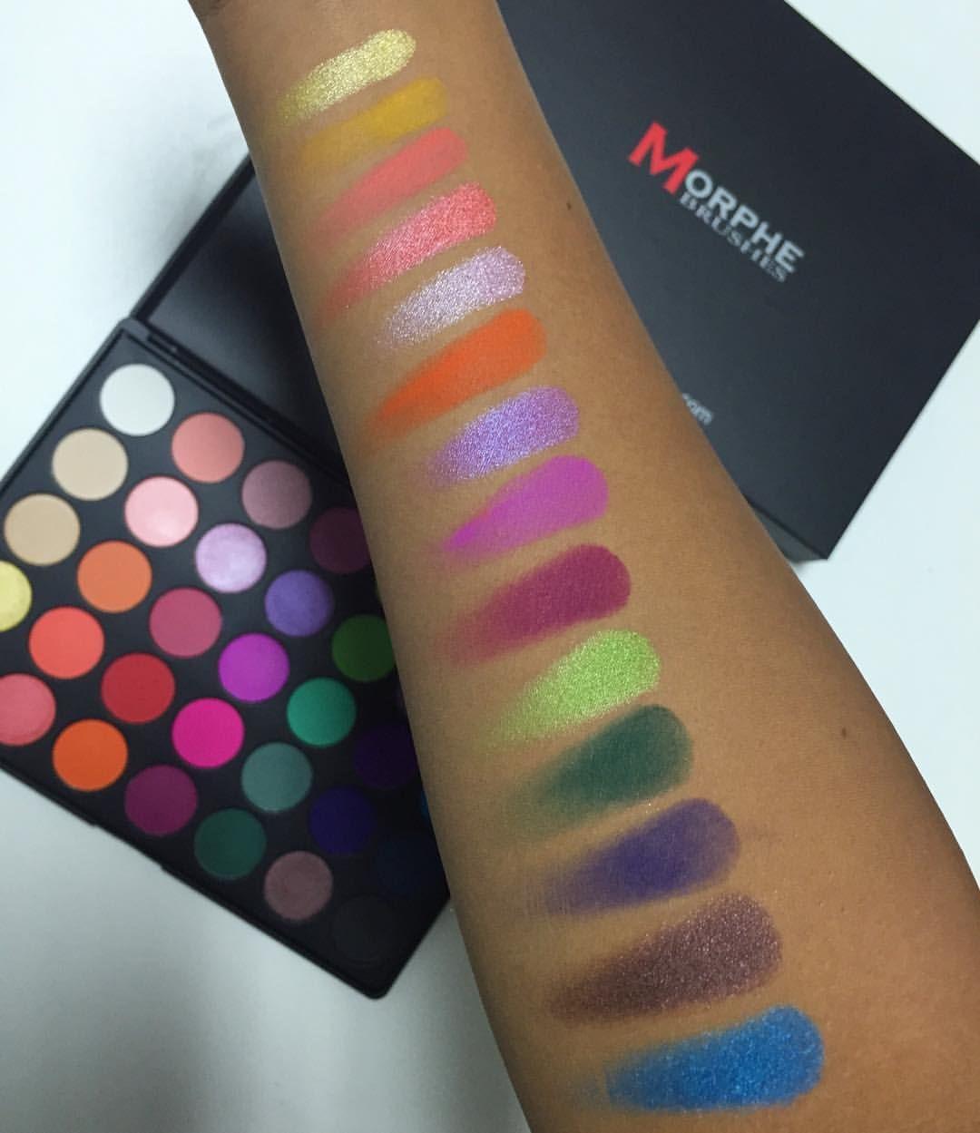 35b Palette Swatches Face Eyes In 2018 Pinterest Wardah Make Up Kit Special Edition Beauty Blender Mac Lipstick Makeup Geek Blusher