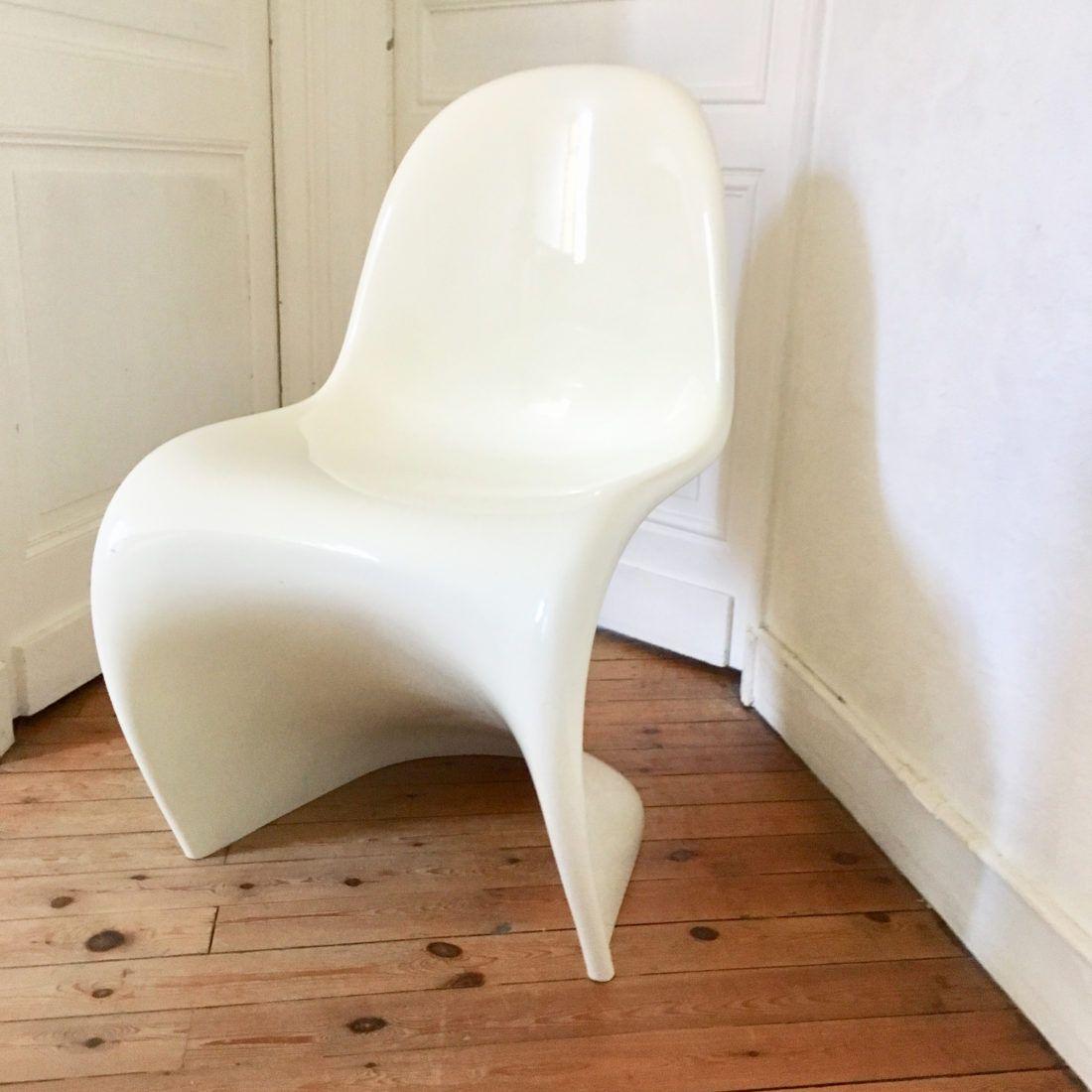 Chaise Panton 1 Chaise Panton Chaise Table Et Chaises