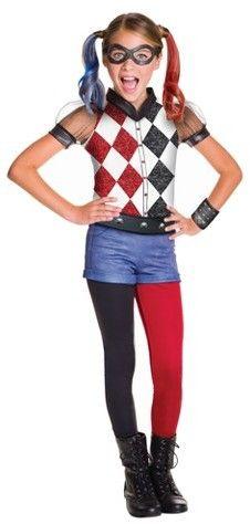DC Super Hero Girls DC® Superhero Girls Harley Quinn Deluxe Costume #afflink  sc 1 st  Pinterest & DC Super Hero Girls DC® Superhero Girls Harley Quinn Deluxe Costume ...