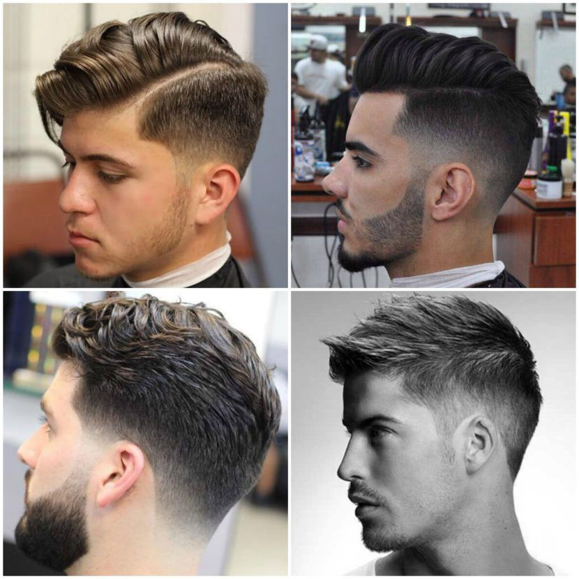 Types Of Hairstyles 21 Types Of Fade Haircut Low Fade Medium Fade Taper Fade High
