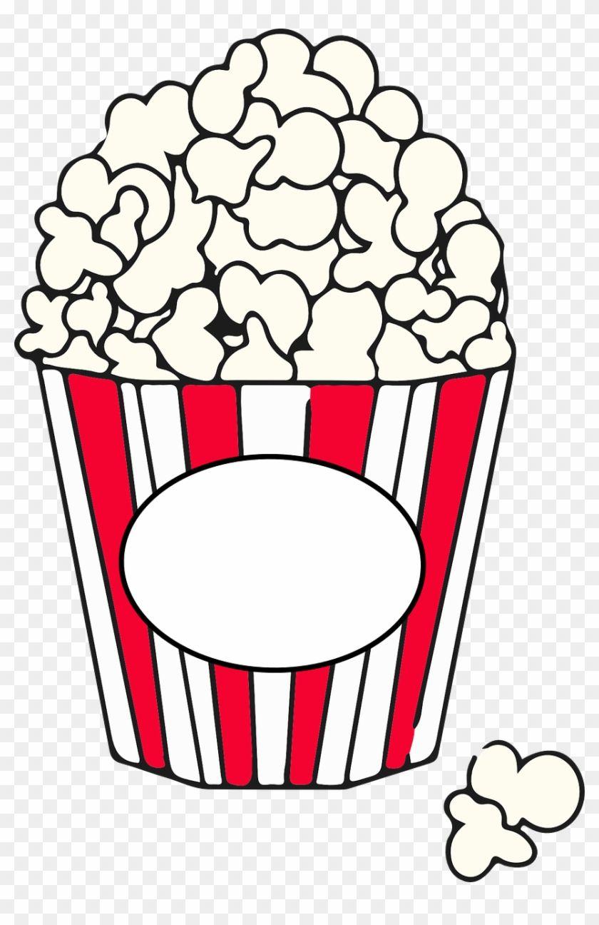 Popcorn Black And White Popcorn Pieces Clipart Black Popcorn Clipart 45947 Clip Art Popcorn Theme Free Clip Art