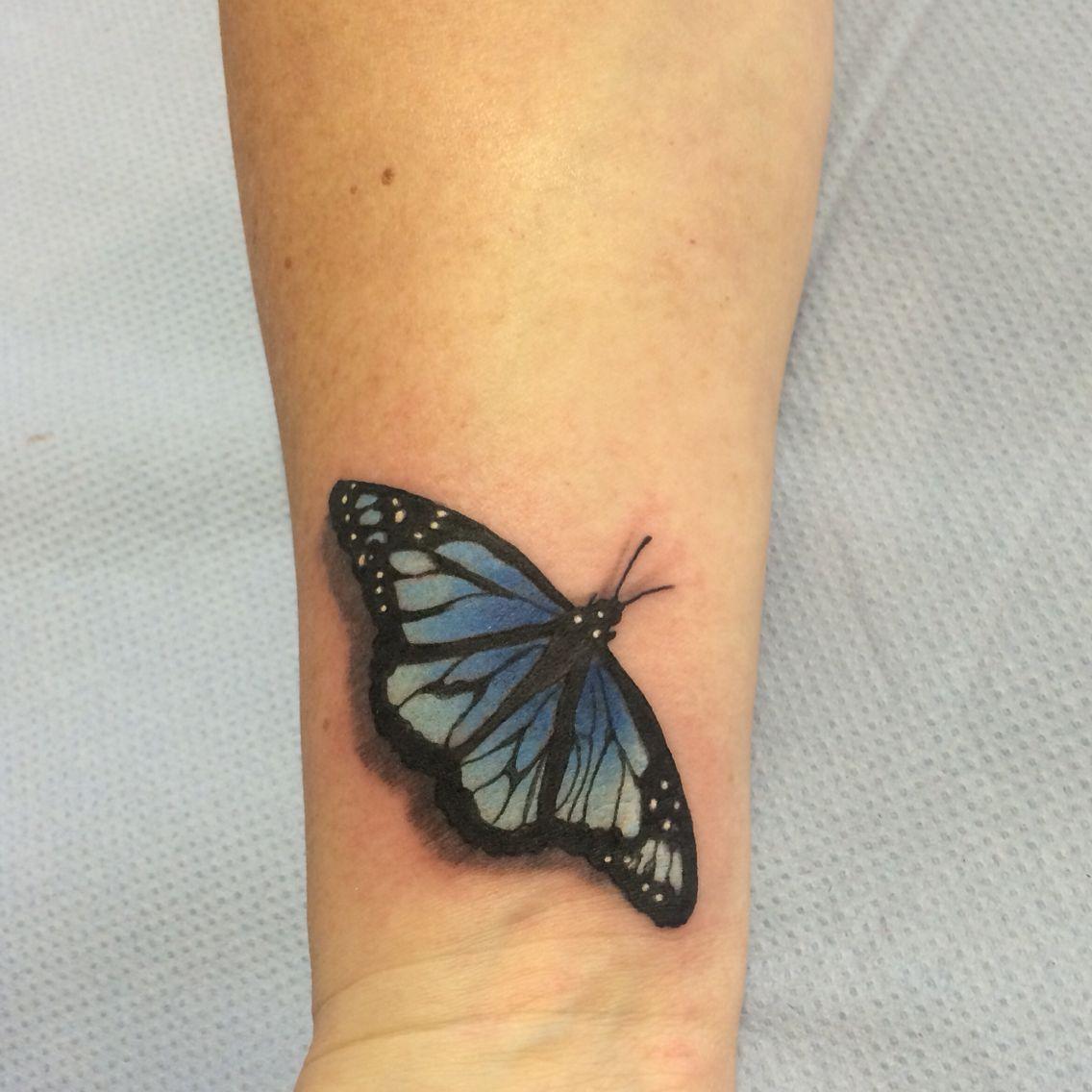 15++ Astonishing Side wrist butterfly tattoo ideas