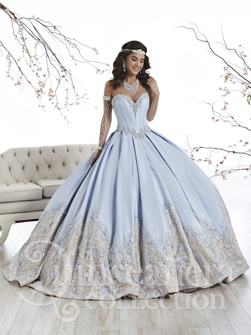 White And Gold Quinceanera Dresses 2019