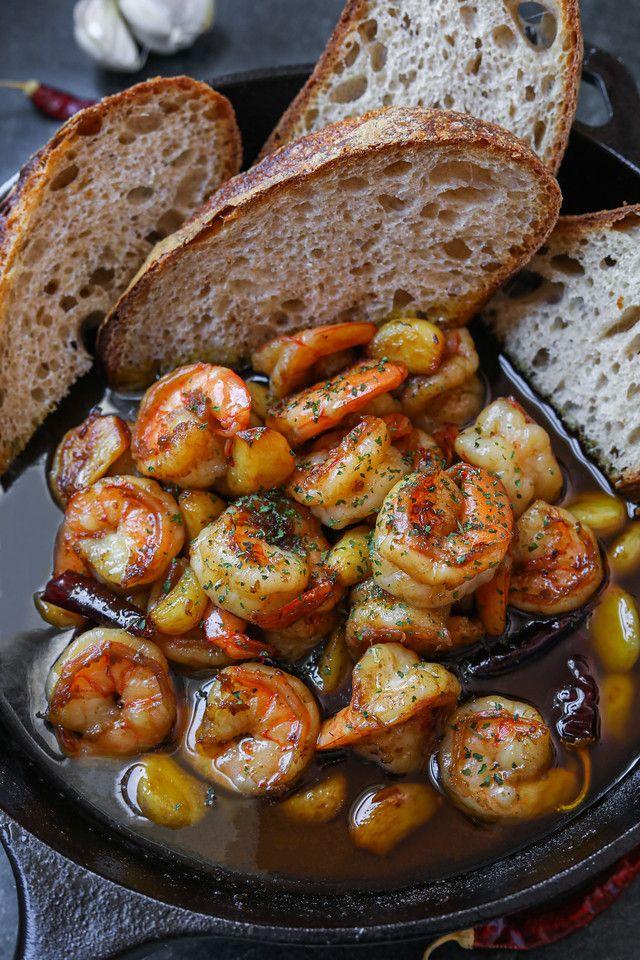 40 Clove Garlic Shrimp EASIEST Recipe & Video - Seonkyoung Longest