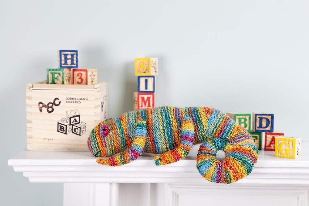 Cuddly Chameleon Knitting pattern by browneyedbabs | Knitting Patterns | LoveKnitting