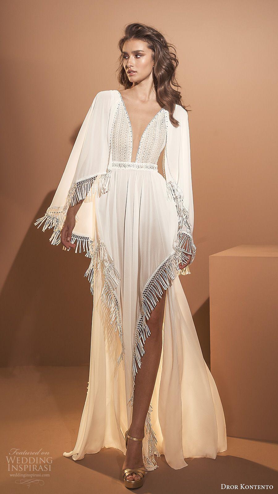 "Dror Kontento 2020 Wedding Dresses — ""Desert Spirits"" Bridal Collection | Wedding Inspirasi – İlham Veren Fikirler"