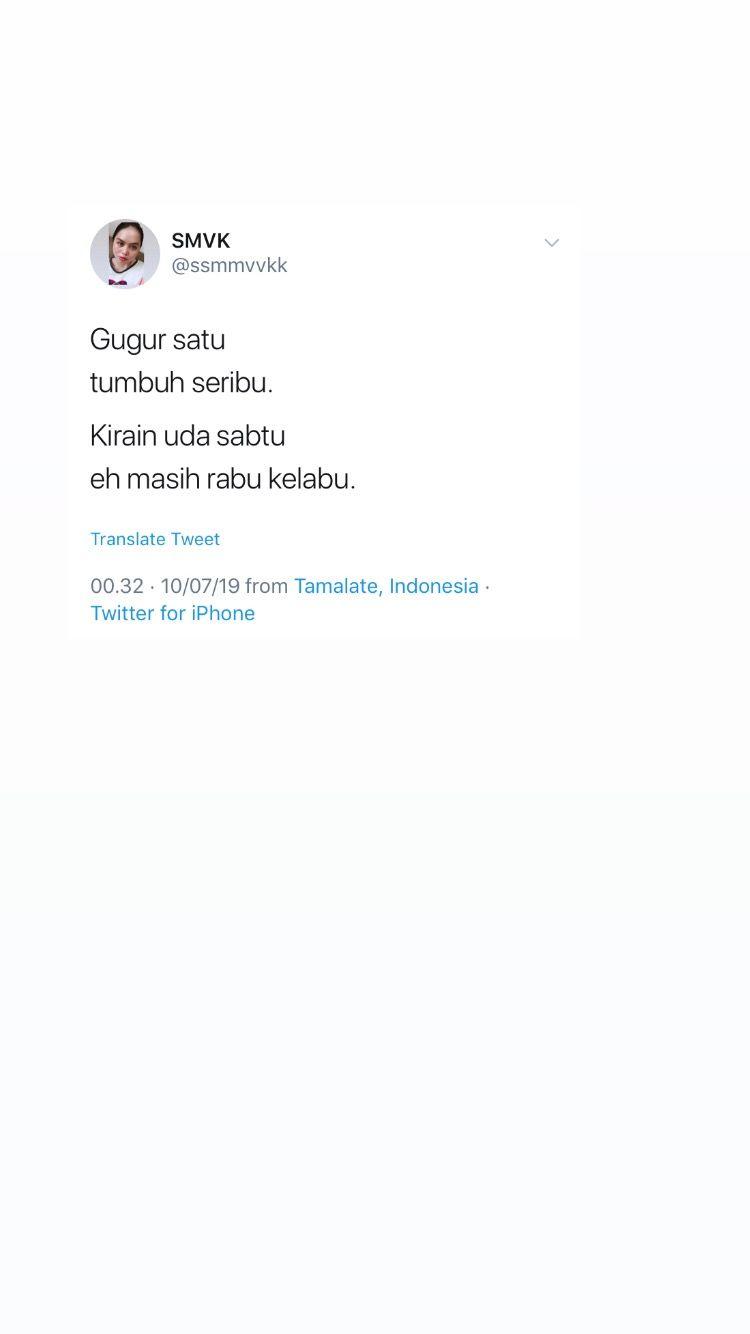 Screenshot Humor Twitter Receh Dagelan Quotes Kutipan Indonesia Good Night Quotes Kutipan Humor