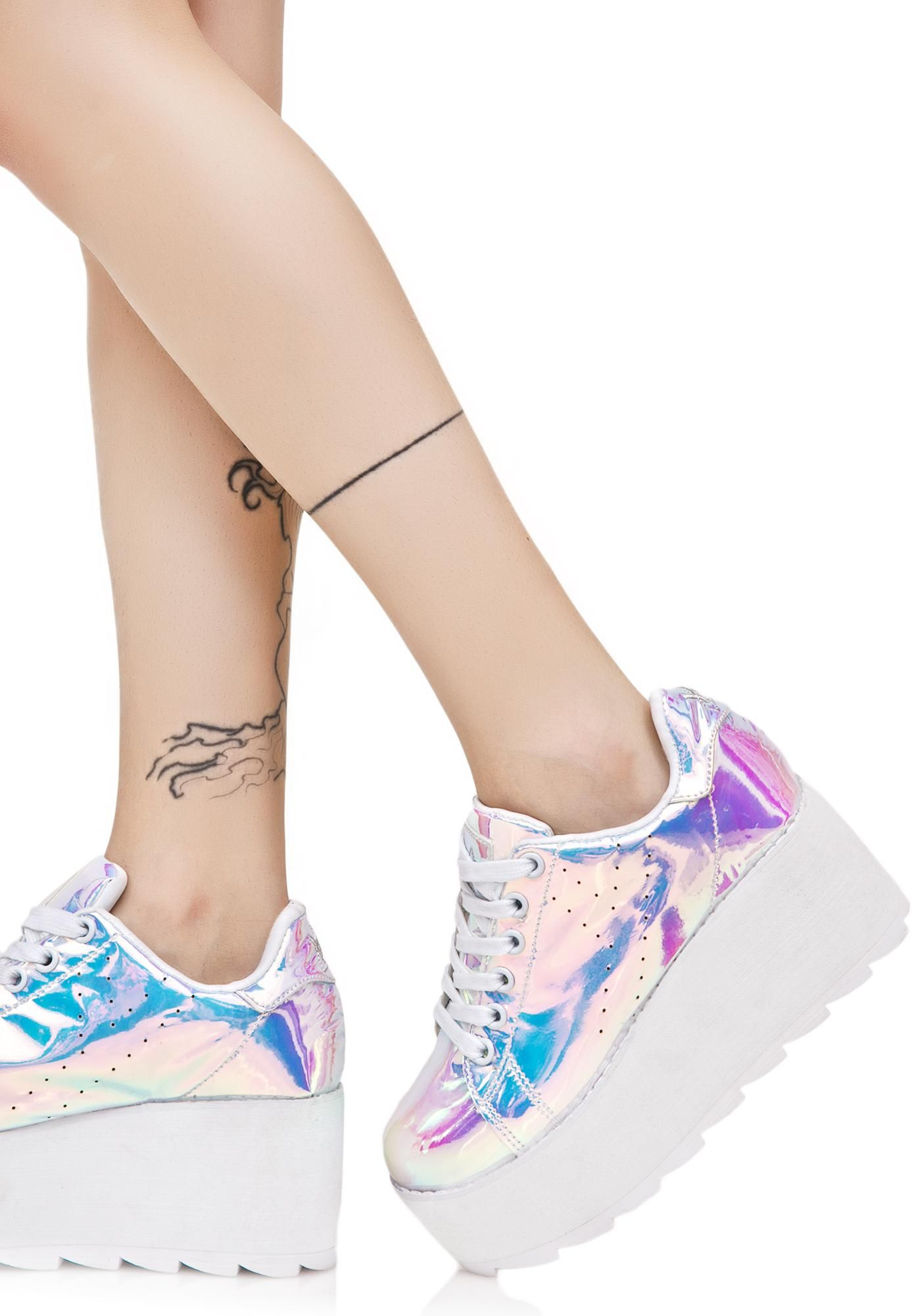 c160030877b73 Lala Atlantis Platform Sneakers in 2019 | Shoes! | Platform sneakers ...