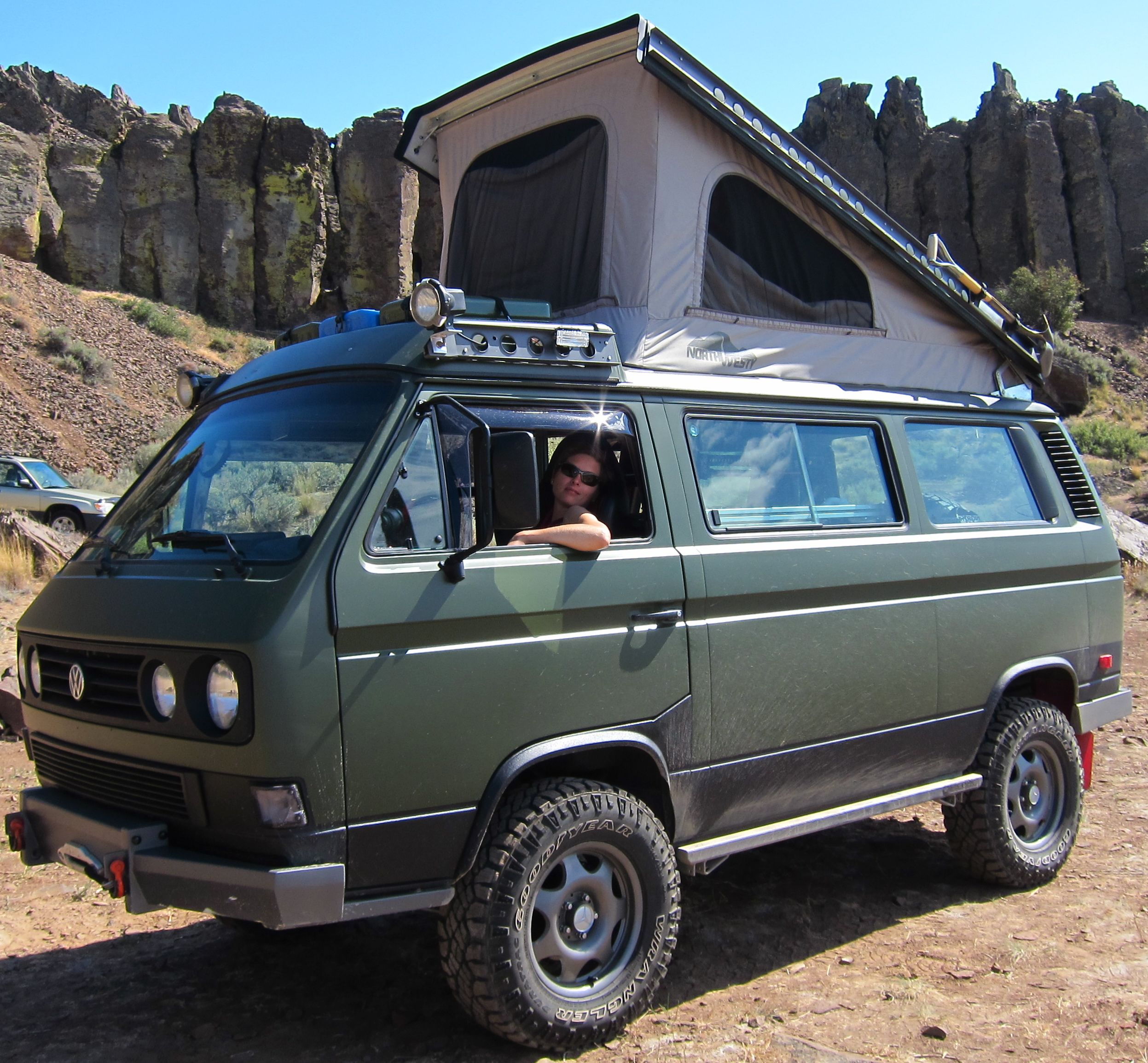 Katie And Greg 1 Year Road Trip In A VW Syncro