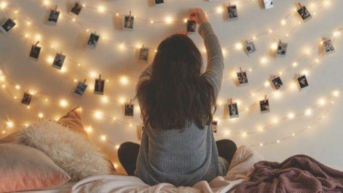 Fotowand selber machen kreative inspirationen f r ihre lieblingsbilder deko - Einrichtungsideen schlafzimmer selber machen ...