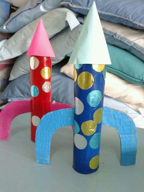 Cohetes espaciales!!