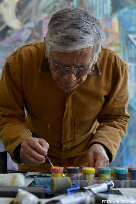Discipulo De David Alfaro Siqueiros Rescata Mural En La Buap