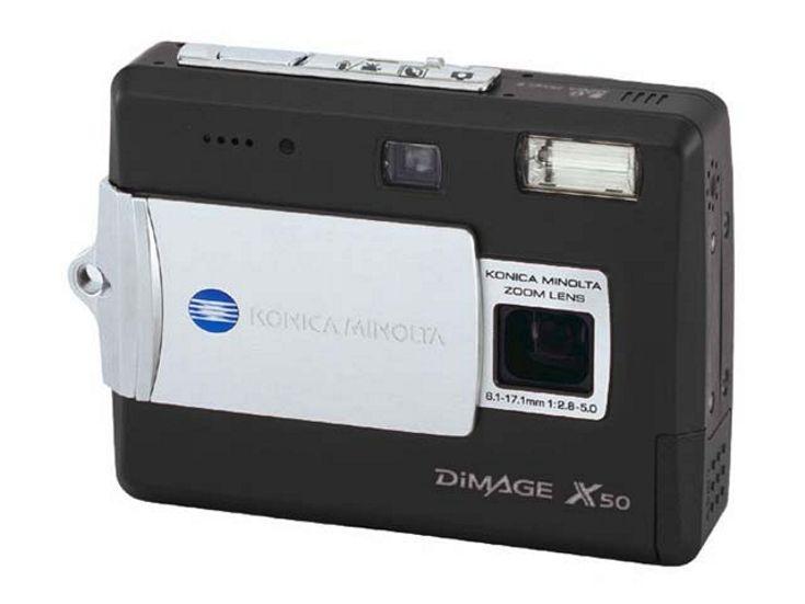 konica minolta dimage x50 black first digital photocamera rh pinterest com Minolta DiMAGE XT Minolta DiMAGE Z2