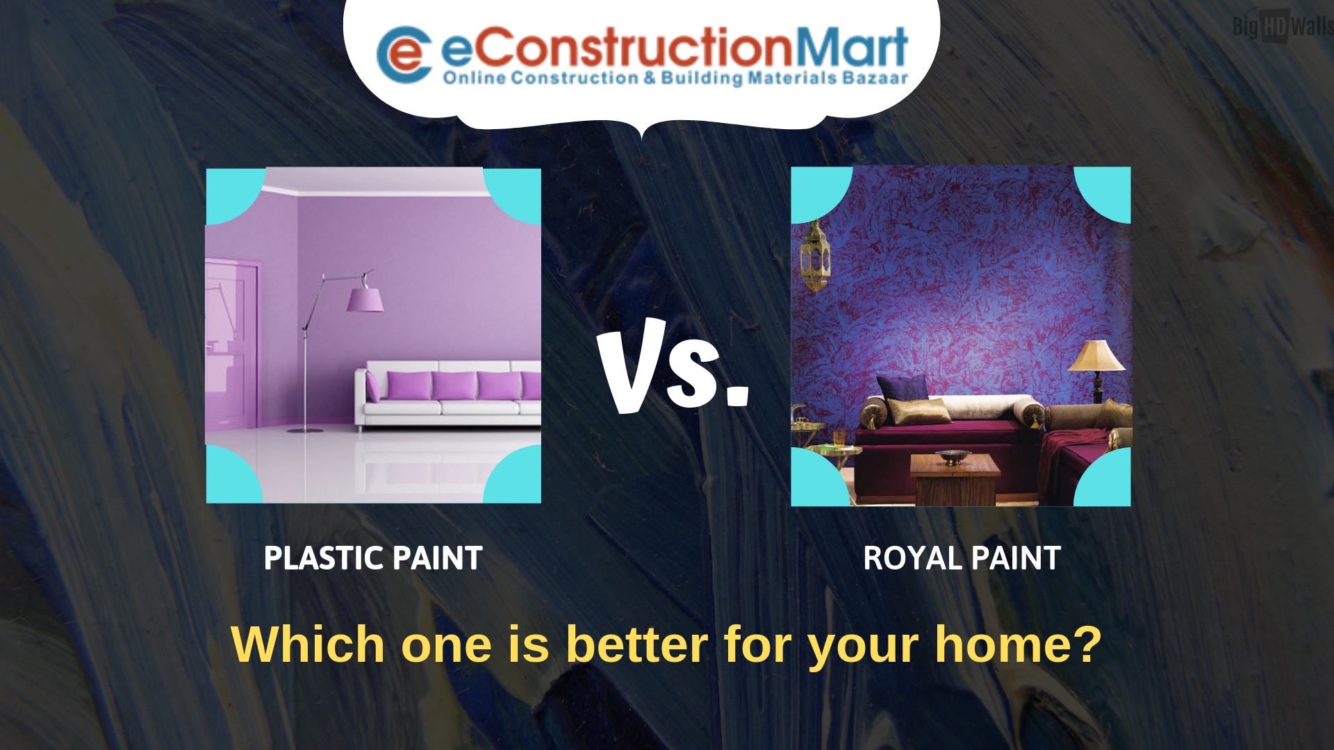 Plasticpaint And Royalepaint Which One Is Better For Your Home Https Bit Ly 2pbcddp Paint Homepaint Asianpaint Ne Asian Paints Wall Painting Painting