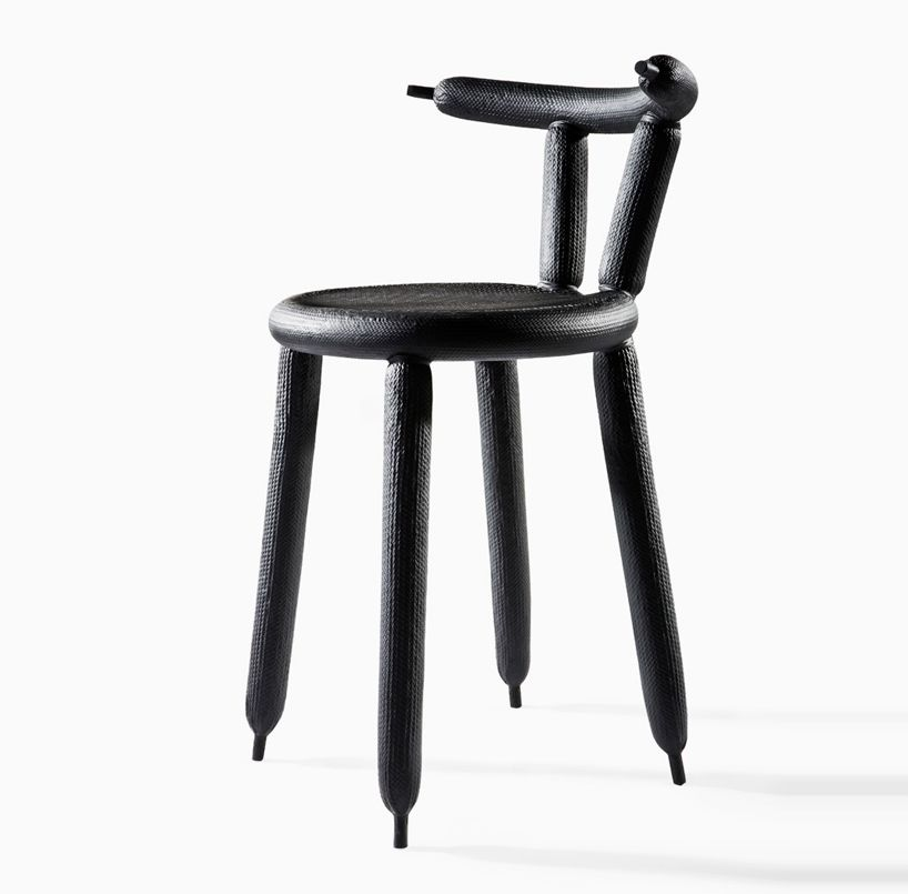 marcel wanders 39 carbon balloon chair debuts at the stedelijk products material pinterest. Black Bedroom Furniture Sets. Home Design Ideas
